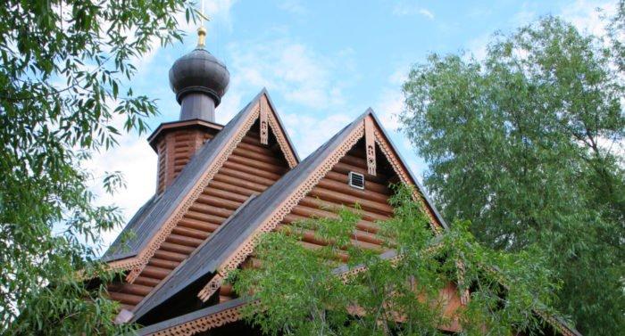 Храм Серафима Саровского в Филёвской пойме