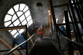 Лестница на колокольню. Фото Владимира Ештокина