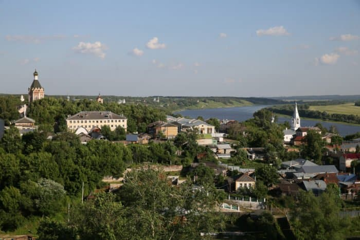 Вид с колокольни Никольского храма. Фото Владимира Ештокина