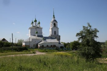 Церковь Богоявления Господня. Фото Владимира Ештокина