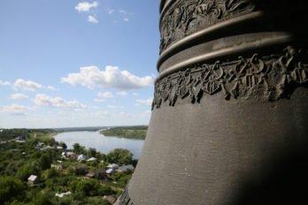 Вид с колокольни Церковь Богоявления Господня. Касимов. Фото Владимира Ештокина