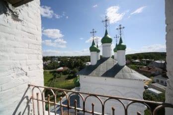 Вид с колокольни Церкви Богоявления Господня. Касимов. Фото Владимира Ештокина