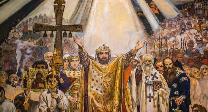 Церковь празднует память князя Владимира и 1030-летие Крещения Руси