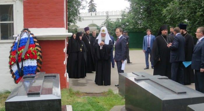 Новодевичий монастырь возродил память о генерале-реформаторе Дмитрии Милютине