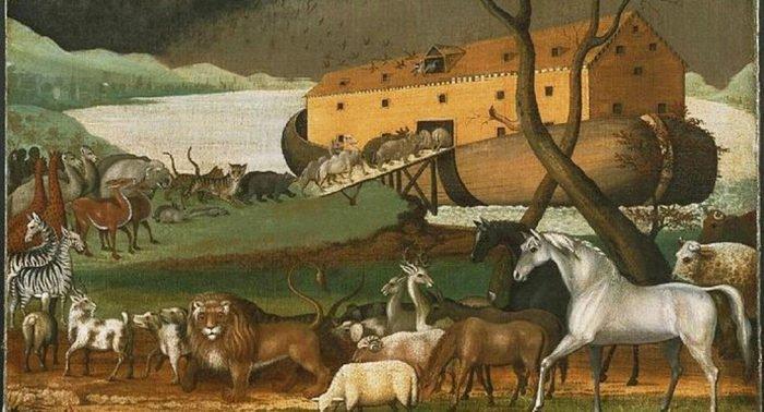 Ученые предположили, что Ноев ковчег мог быть пирамидой