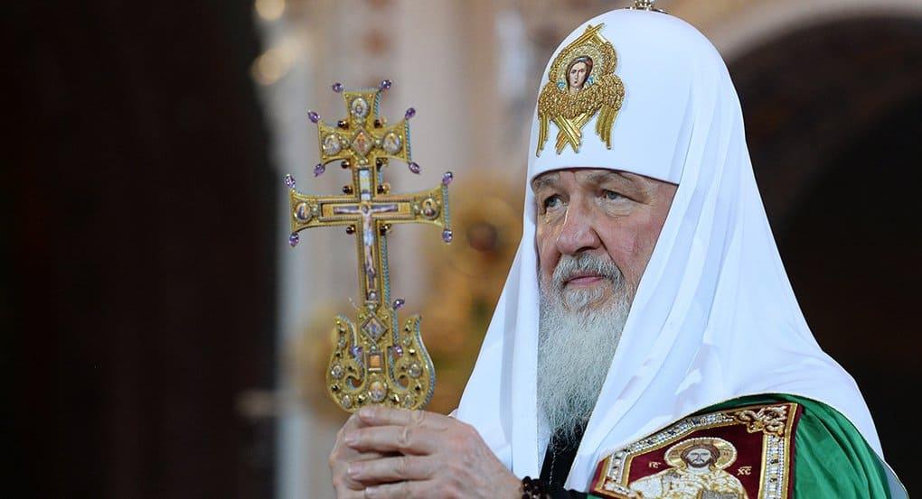 Патриарх Кирилл молится об убитом игумене Данииле (Соколове)