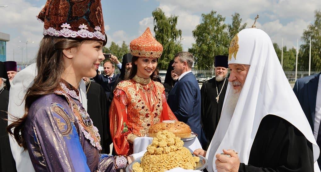 Отношения православных и мусульман в Татарстане - проекция на всю страну, - патриарх Кирилл