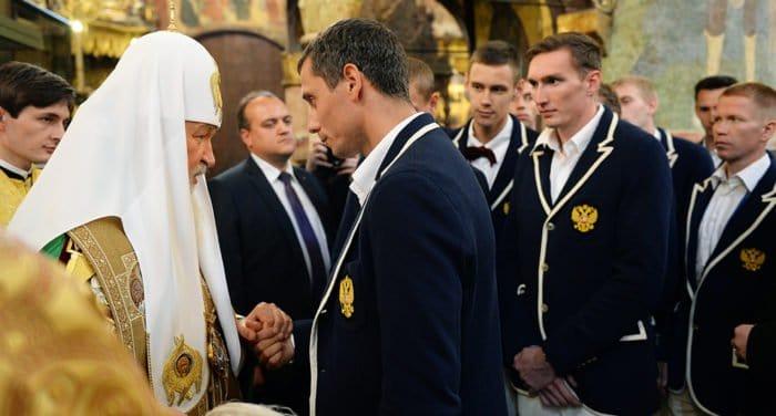 Патриарх пожелал олимпийцам помнить о личной ответственности перед страной