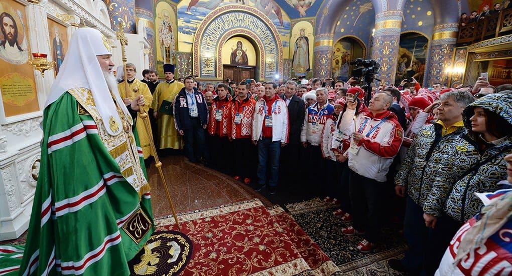 Задача Церкви - духовная поддержка спортсменов, а не привлечение удачи, - Владимир Легойда