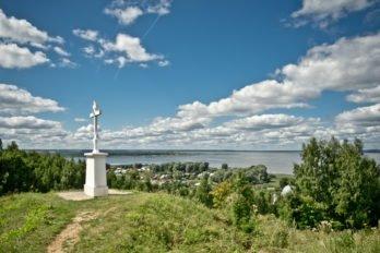 Поклонный крест на горе Балчуг. Галич. Из открытых источников