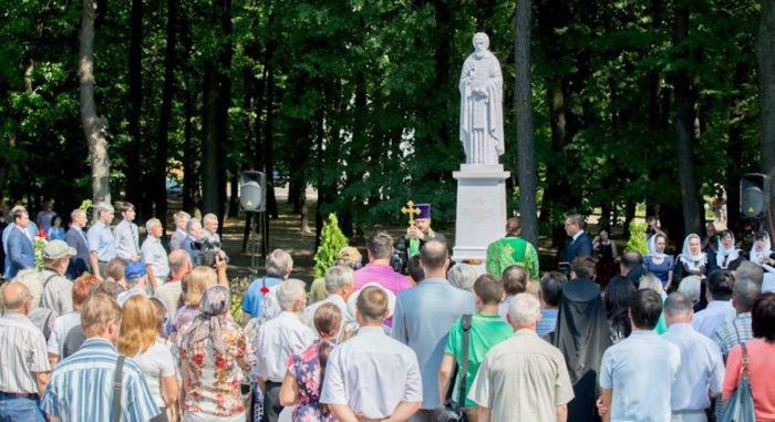 «Сердце» Рязани украсил памятник преподобному Сергию Радонежскому