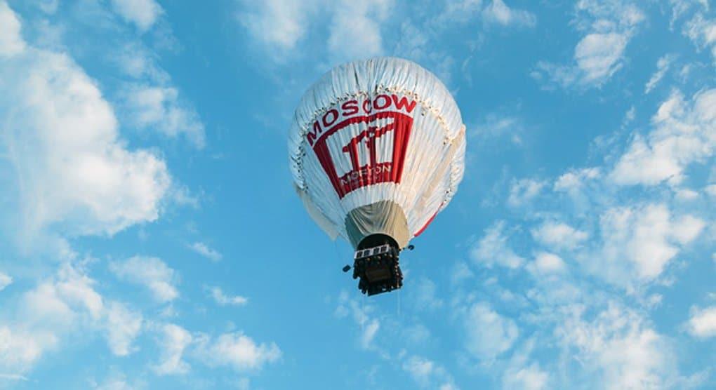 Священник Федор Конюхов с рекордами завершил кругосветку на воздушном шаре