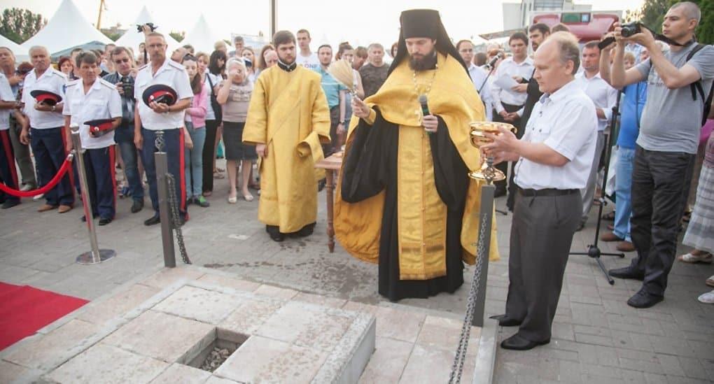 «Южными вратами» России станет православная часовня-тетрапилон