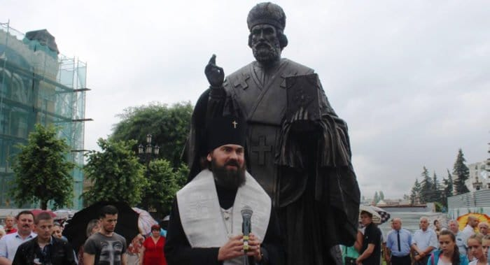 Памятник Николаю Чудотворцу украсил бульвар Кисловодска