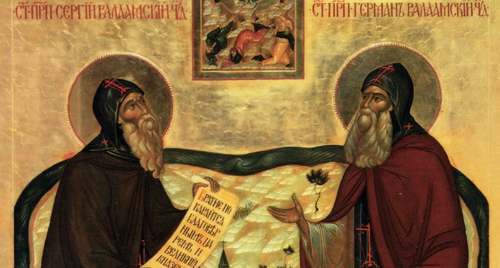 Церковь чтит память преподобных Сергия и Германа Валаамских