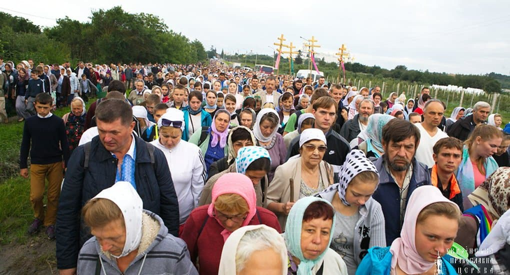 Украинская Церковь призвала верующих присоединиться к общенациональному крестному ходу