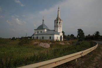 Церковь Рождества Богородицы в селе Менчаково