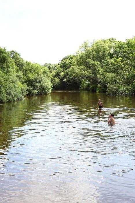 Река Бирушка, в которой утопили священника