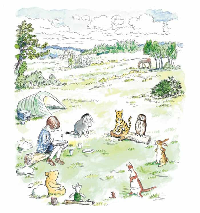"England's top 25 ""Simple Pleasures"" inspired by classic Winnie-the-Pooh tales are revealed today in a guide featuring brand new illustrations. The guide was commissioned by Egmont and is supported by VisitEngland."