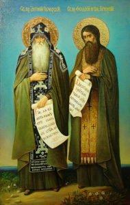 15.1. Антоний и Феодосий Киево-Печерские