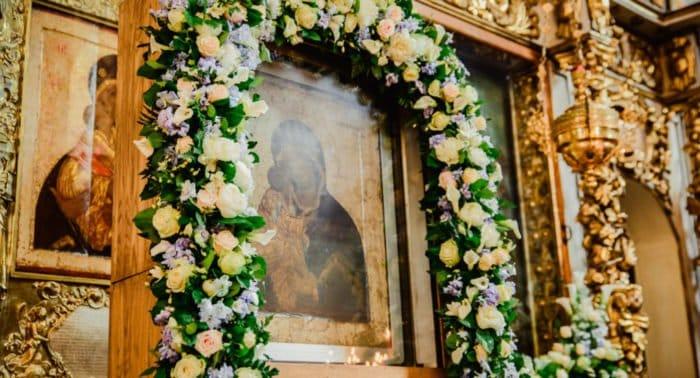 С 31 августа по 3 сентября в Донском монастыре пребывает Донская икона Божией Матери