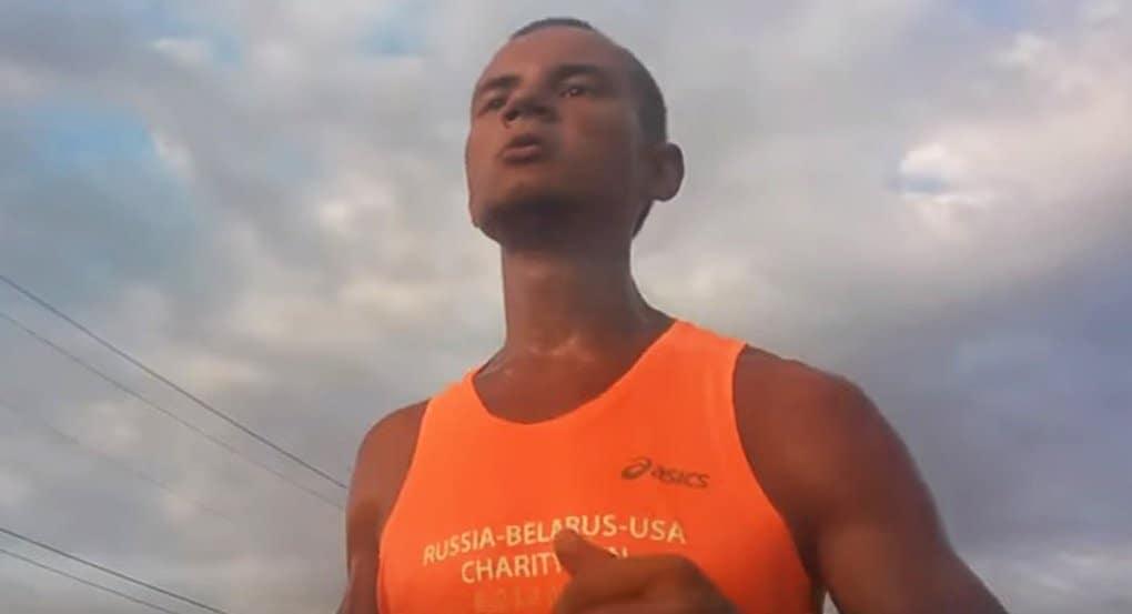 Россиянин бежит 10 тысяч километров, чтобы создать программу поиска пропавших детей
