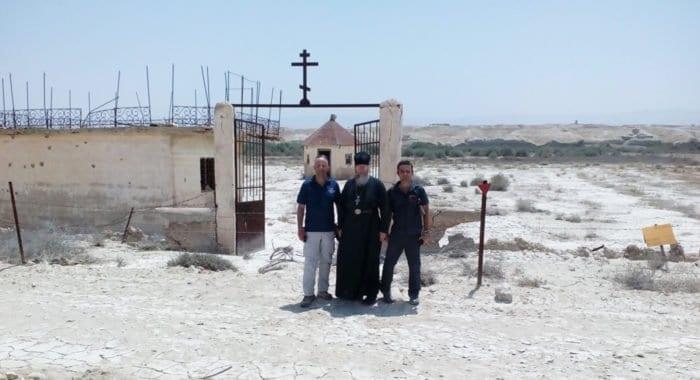 В Русской Зарубежной Церкви просят помочь с разминированием места крещения Иисуса Христа