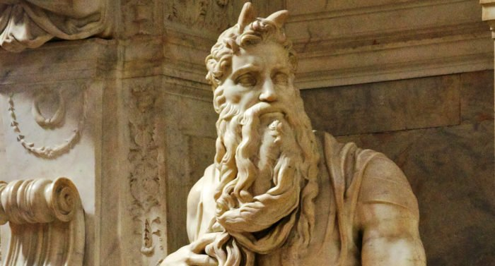 Моисей. скульптура Микеланджело