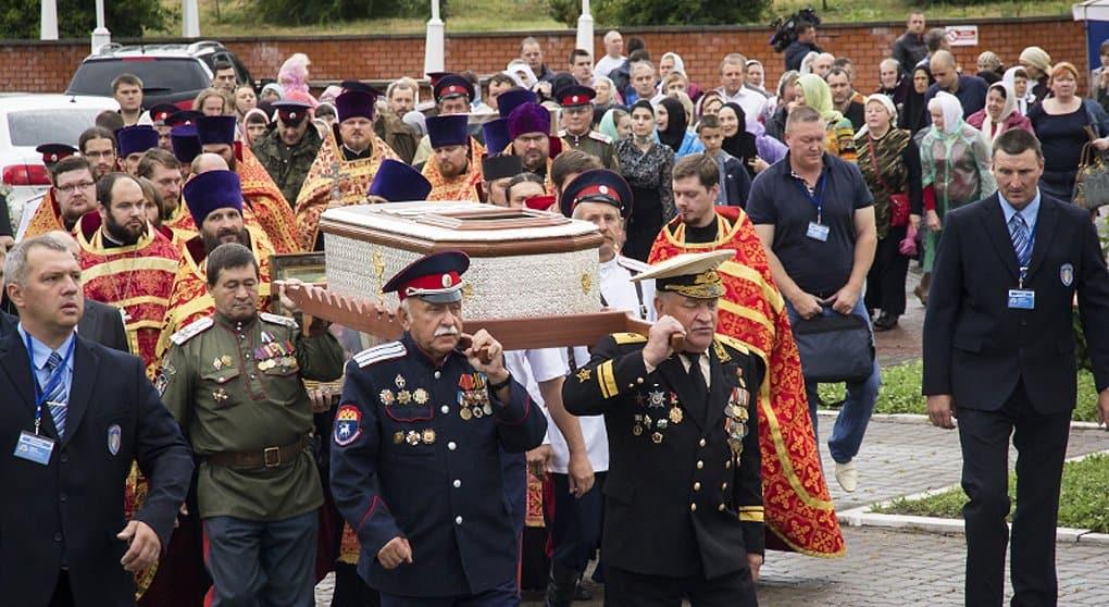 Воронеж поклонился мощам святого воина Федора Ушакова