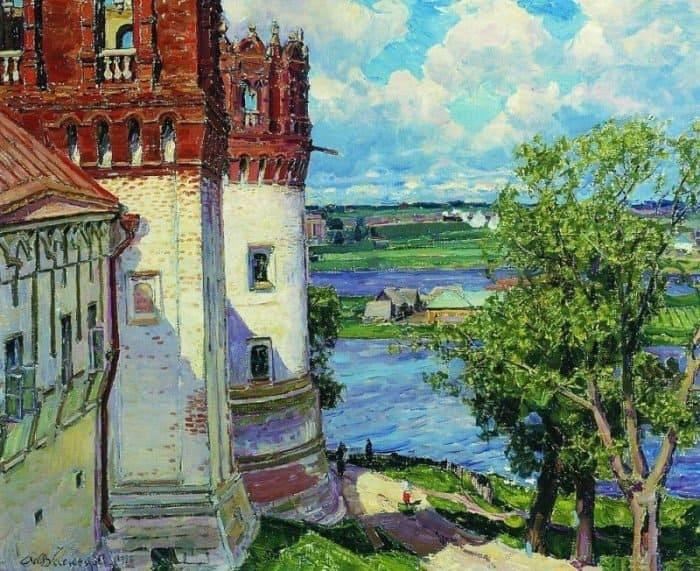 Новодевичий монастырь. Башни. 1926