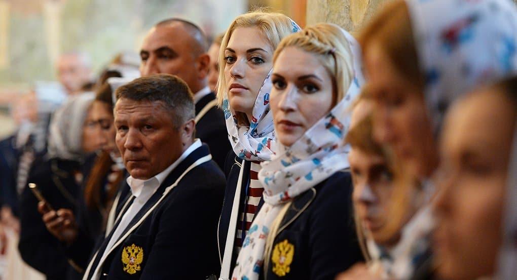 Российские олимпийцы в Бразилии молятся в устроенной комнате-часовне