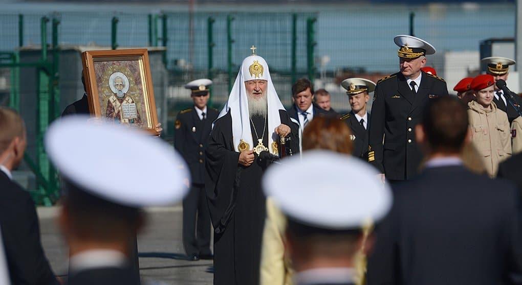 Патриарх Кирилл заложил в Мурманске кафедральный собор