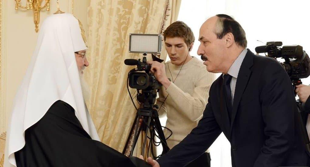 Патриарх Кирилл надеется на сотрудничество Церкви и власти в Дагестане