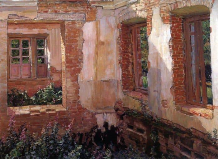 Развалины дома. 1900-е
