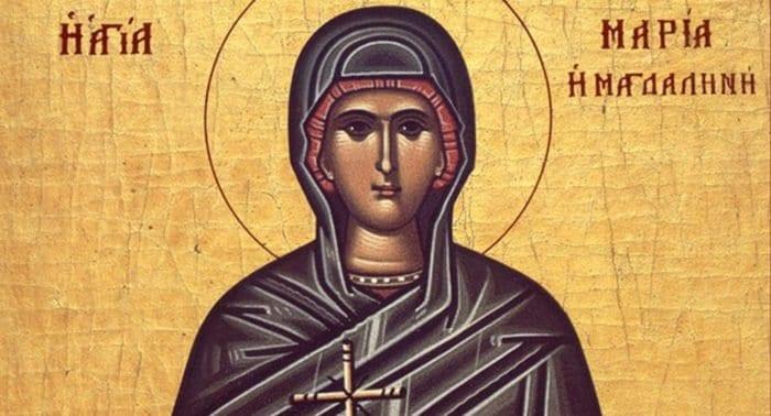 Церковь празднует память равноапостольной Марии Магдалины
