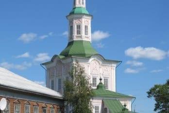 Церковь Святой Троицы в Тотьме. Фото Ивана Попова