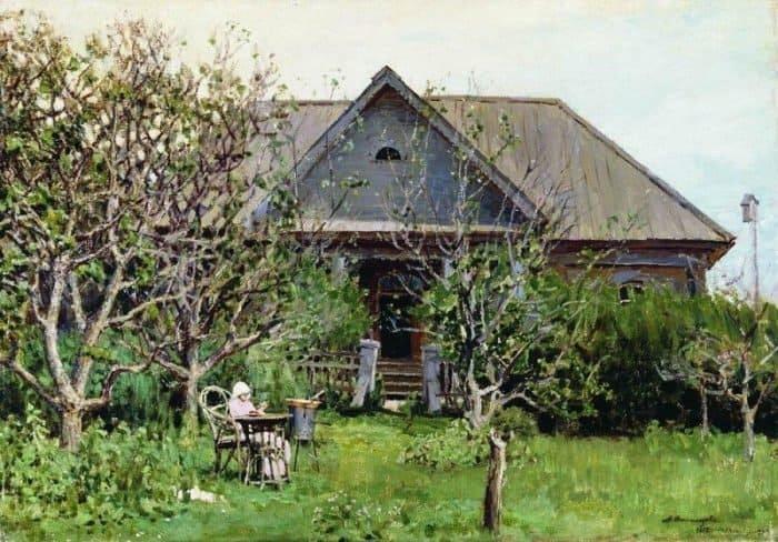 За варкой варенья. 1892