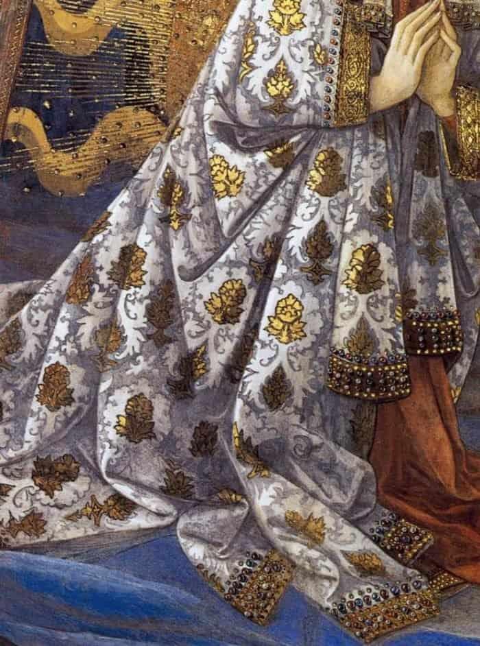 Коронование Богоматери. Деталь. 1467-69 гг. Фра Филиппо Липпи. Дуомо, Сполето. Фреска