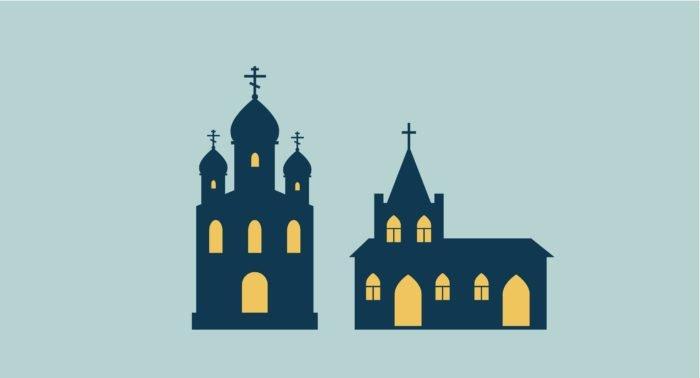 Православная и католическая церкви - сестры?