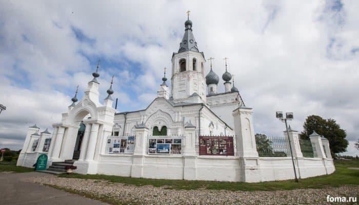 Храм св. Иоанна Златоуста в Годеново. Фото Юлии Маковейчук