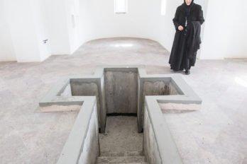 Внутри крестильного храма Богоявления. Фото Юлии Маковейчук