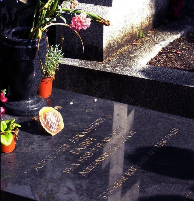 Кладбище Сент-Женевьев-де-Буа (Франция)