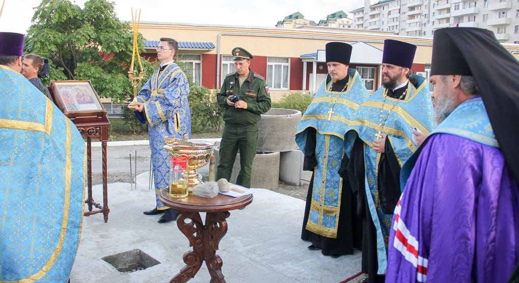 У новороссийских десантников появится свой храм