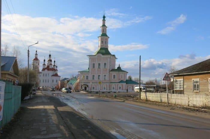 Храм Рождества Христова в Тотьме. Здесь мощи преподобного Феодосия пробыли 12 лет
