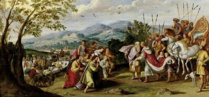 Иосиф открывается братьям в Египте. Автор: Анонимный автор - http://www.van-ham.com, Общественное достояние, https://commons.wikimedia.org/w/index.php?curid=12250314