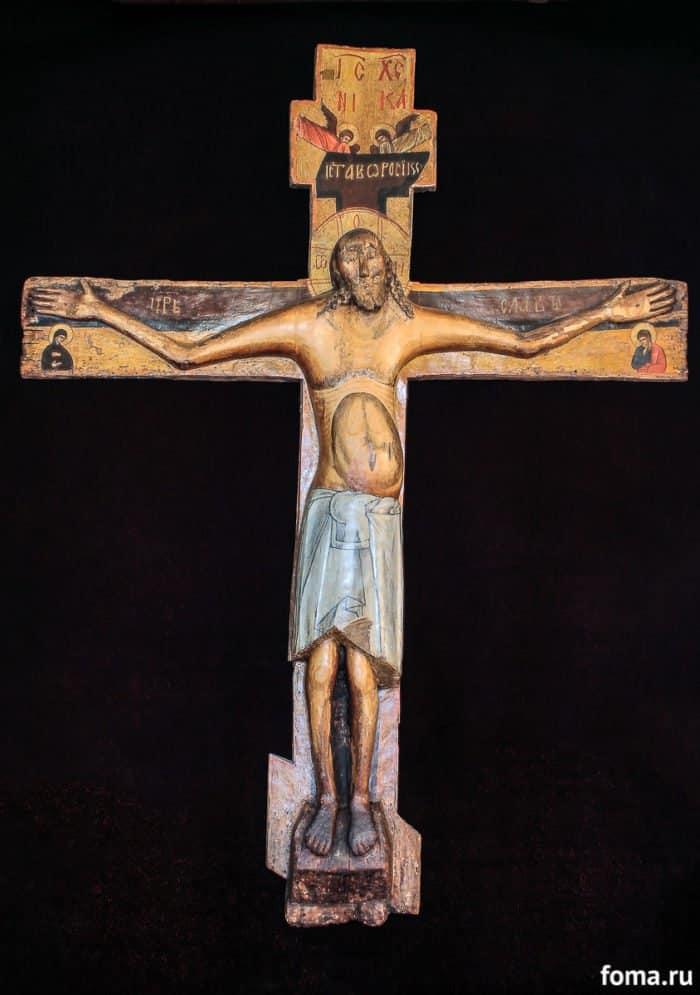 Общий вид Креста после реставрации. Фото предоставлено архивом Свято-Никольского женского монастыря в г. Переславле-Залесском