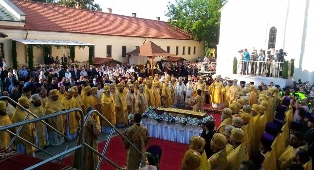 В Молдове прославили митрополита, открывшего в стране первую семинарию