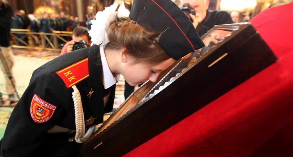 В день иконы «Неопалимая Купина» спасатели помолились своей главной святыне
