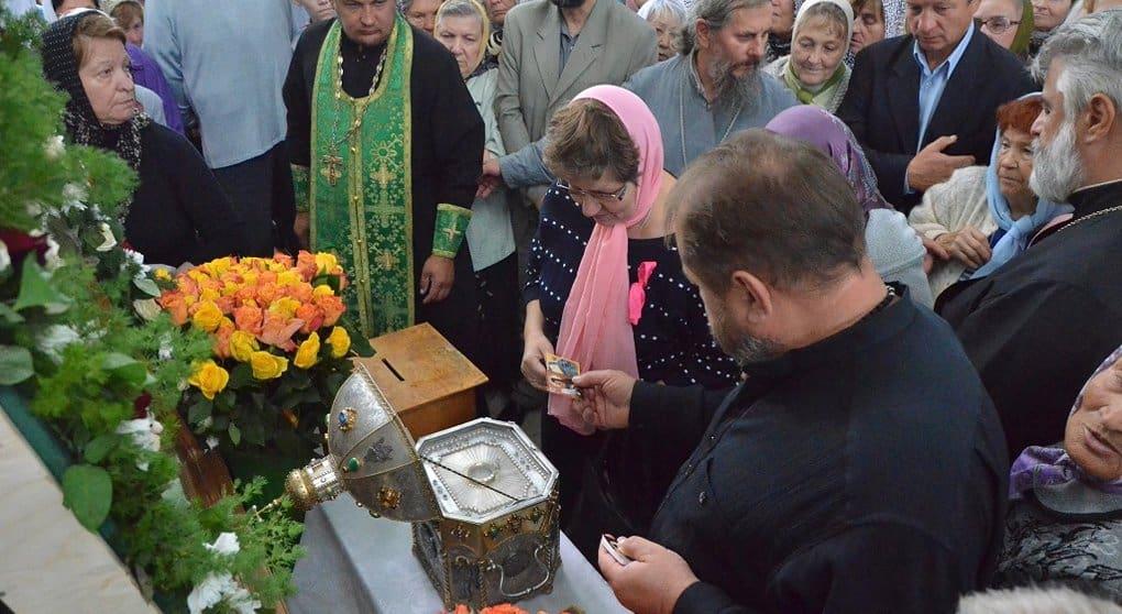 Мощам Силуана Афонского поклонились на его малой родине