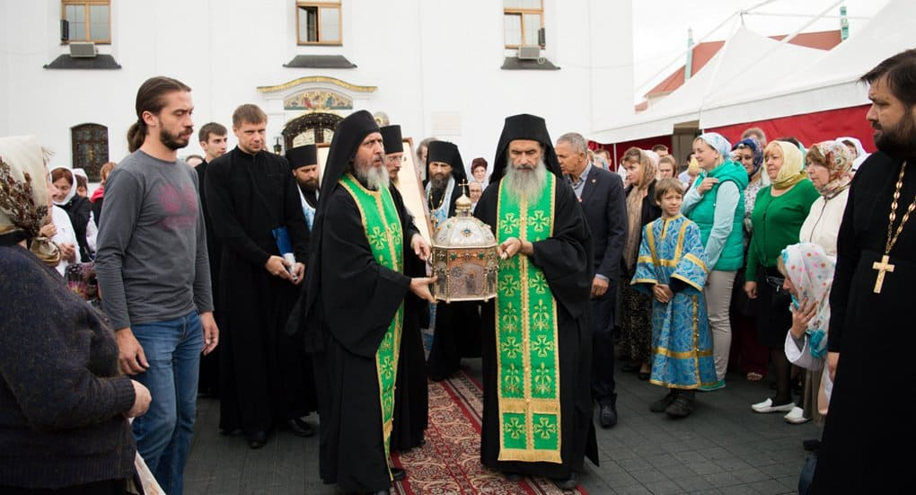 Петербург добавили к городам, принимающим мощи Силуана Афонского